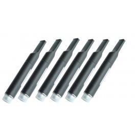 6 x Oil Vaping Cartridge - 6 x 1.0ml Empty Replacement for Kanavape, Bud Touch, O Pen, Medi Pen etc