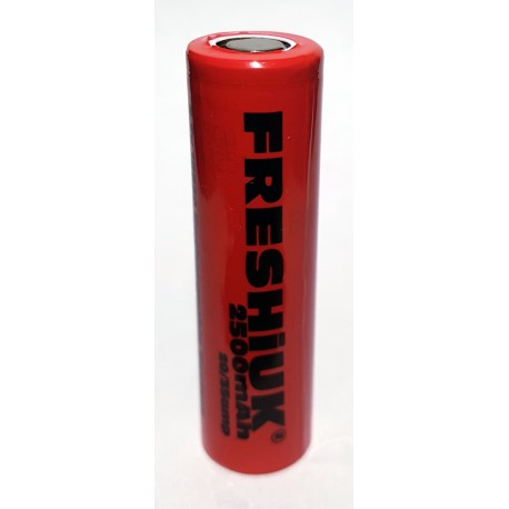 FRESHiUK 20a Continuous Discharge Current 2500mAh 3.7v IMR Rechargeable Batteries