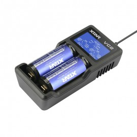 XTAR VC2 USB Li-Ion Battery LCD Charger