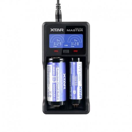 XTAR VC2 Plus Master USB Li-Ion Ni-MH Battery LCD Charger