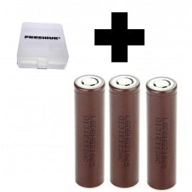 3x Genuine LG HG2 20a 3000mAh 3.7v IMR High Drain 18650 Batteries