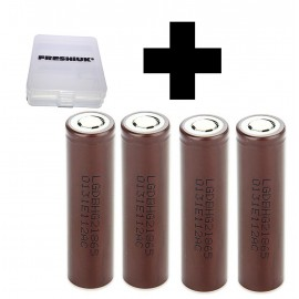4x Genuine LG HG2 20a 3000mAh 3.7v IMR High Drain Rechargeable 18650 Batteries