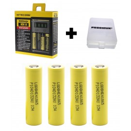 UK Nitecore New i4 2016 CR123A 26650 18650 AA/AAA Intellicharge Battery Charger