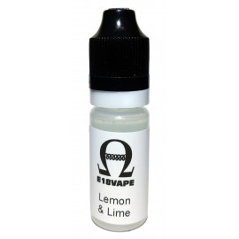 Lemon and Lime Flavour Nicotine Free e-Liquid Juice 10ml