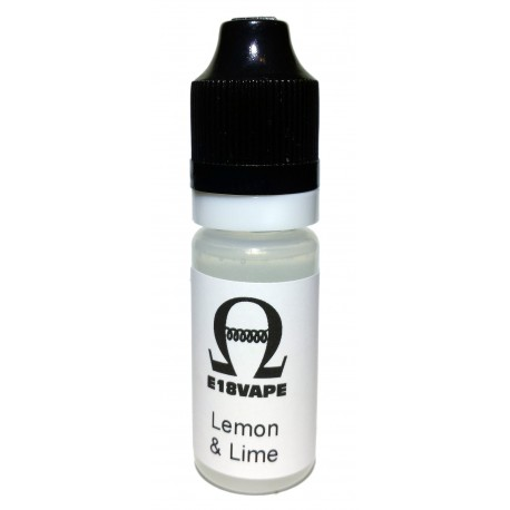 Lemon & Lime Flavour Nicotine Free e-Liquid Juice 10ml