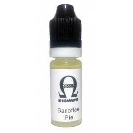 Banoffee Pie Flavour Nicotine Free e-Liquid Juice 10ml