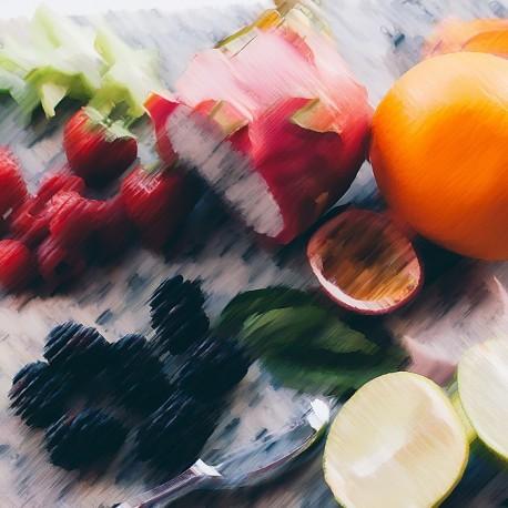 Tropical Fruits Flavour Nicotine Free e-Liquid Juice 10ml