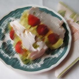 Strawberry Cheesecake Flavour Nicotine Free e-Liquid Juice 10ml