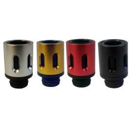 oso Style Hybrid Acrylic Wide Bore 510 Drip Tip with Air Flow