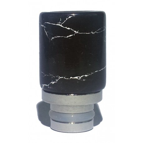 Jade Glass Hybrid Wide Bore 510 Drip Tips - 8 Different Unique Designs