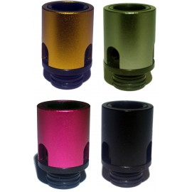 Acrylic 510 Drip Tip with Air Flow - 4 Different Colours