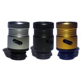 Hybrid Acrylic 510 Drip Tip with Air Flow - 3 Different Colours