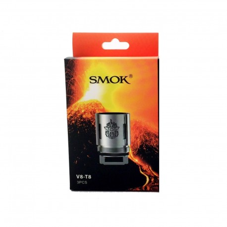 Genuine SMOK V8-T8 Coils for SMOK TFV8 Cloud Beast - 3 Pack