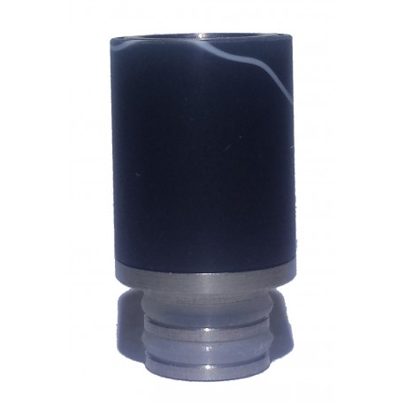 Hybrid Acrylic & Stainless Wide Bore 510 Drip Tip - 7 Colours