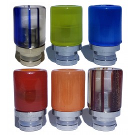 Hybrid Acrylic 510 Drip Tips in 6 Different Colours