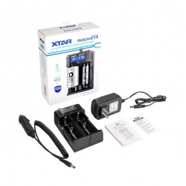 XTAR SV2 Rocket Li-ion, Ni-MH & Ni-CD 18650 18350 AA AAA Vape Battery Charger