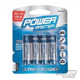 PowerMaster AA Super Alkaline Battery LR06 4pk