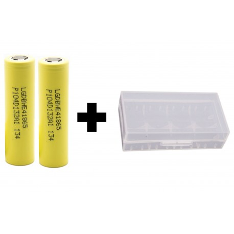 Genuine LG HE4 20a Continuous Discharge Current 2500mAh 3.7v IMR Rechargeable Batteries