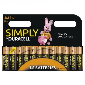 Duracell Simply AA 8 Pack Alkaline 1.5v LR6 MN1500 - Quality Guaranteed