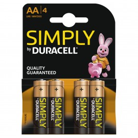 Duracell Simply AAA 8 Pack Alkaline 1.5v LR3 MN2400 - Quality Guaranteed