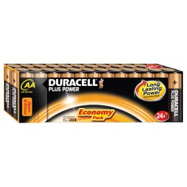 Duracell Plus Power Duralock AA 24 Pack Alkaline 1.5v LR06 MX1500 - Quality Guaranteed