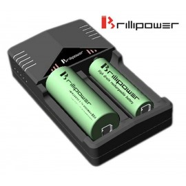 BrilliPower BIC2 Intelligent Samsung LG Sony Aspire 18650 26650 Battery Charger