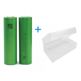 2 x Genuine SONY VTC5 18650 30A 2600mAh High Drain Flat Vape Mod Batteries