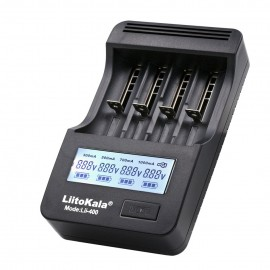 LiitoKala Engineer Lii-400 UK Model 18650 26650 16340 Vape Battery Charger