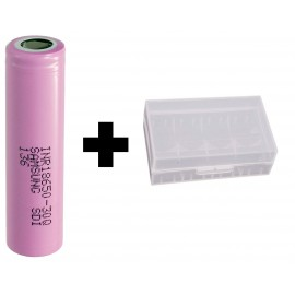 1x Genuine Samsung INR18650-30Q 15a 3000mAh 3.7v IMR Rechargeable Batteries