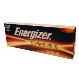 10x Energizer LR06 Industrial AA Alkaline Batteries Long-lasting 1.5V AM3