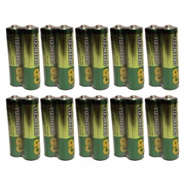 20X GP GreenCell Heavy Duty Industrial AAA Batteries LR03 Battery Flash Torch