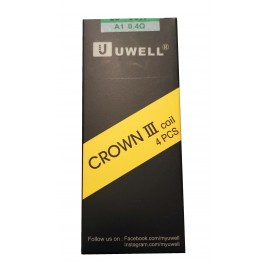 Genuine Uwell Crown 3 Tank Replacement Coils 4 Pack 0.4ohm