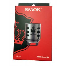 Genuine SMOK V12 Prince Q4 Coils for SMOK TFV12 Prince - 3 Pack