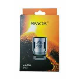 Genuine SMOK V8-T10 Coils for SMOK TFV8 Cloud Beast - 3 Pack