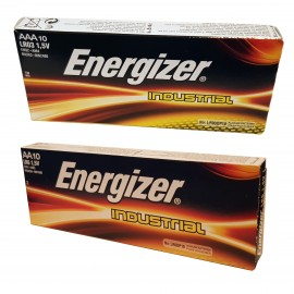 10x AA 10x AAA Energizer Industrial Batteries Long-lasting 1.5 V Alkaline Battery