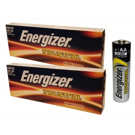 20x Energizer LR6 Industrial AA Alkaline Batteries Long-lasting 1.5V 2027 Expiry