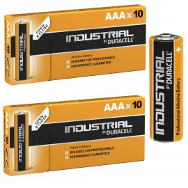 20 Duracell Industrial AAA Alkaline Batteries Procell MN1500 1.5V LR03 2024 EXPIRY