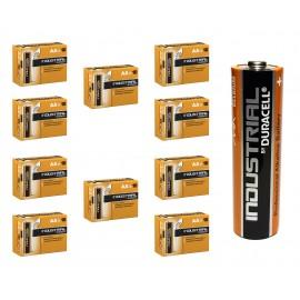 100 x AA Duracell Industrial Alkaline Batteries LR6 AM3 2024 Expiry