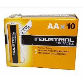 10x Duracell AA Industrial Procell Alkaline Batteries LR06, MN1500, Exp 2024