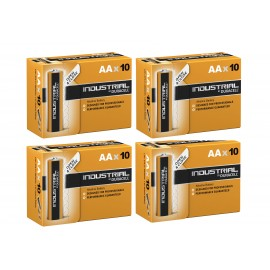 40X Duracell Industrial AA Batteries Alkaline 1.5V LR6 MN1500 Procell Battery UK
