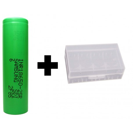 Genuine Samsung INR18650-25R 20a Continuous Discharge Current 2500mAh 3.7v IMR Rechargeable Batteries