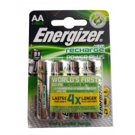 Energizer Power Plus 2000mAh Pre Charged AA Rechargeable Batteries NiMH HR6