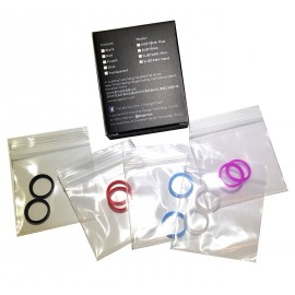 Kanger SubTank Nano Replacement Colourful Seals - Customise Your Tank
