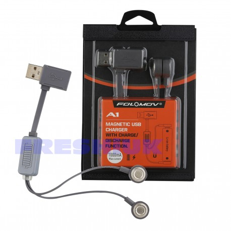 Folomov A1 Portable USB Li-Ion Battery Charger