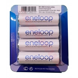4 Pack NEW Panasonic Eneloop AA 1900mAh HR6 NiMH Rechargeable batteries