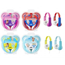 JVC HA-KD7 Overhead Kids TinyPhones Headphones 4 Original Colours