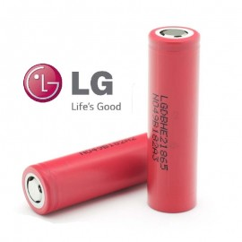 Genuine LG HE2 20a Continuous Discharge Current 2500mAh 3.7v IMR Rechargeable Batteries